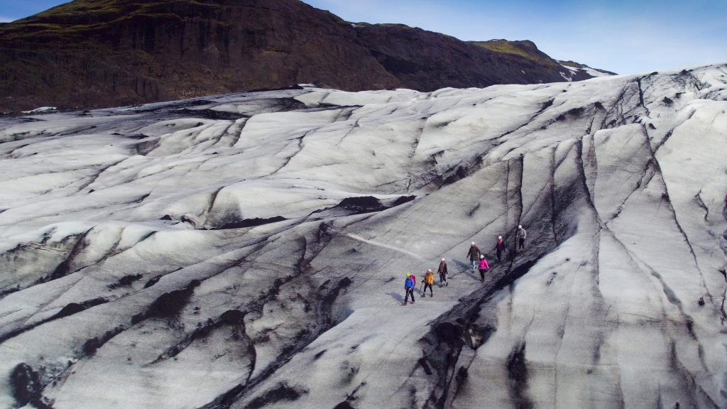Iceland South Coast Glacier Walk